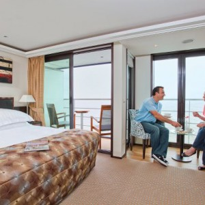 twin balcony stateroom on AmaBella (2)